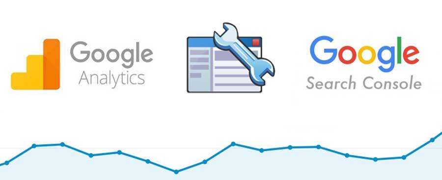 google analytics e search console