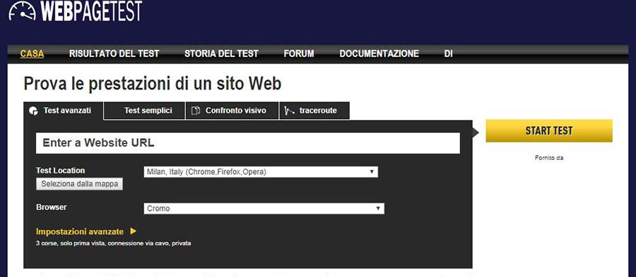 tool web-page-test
